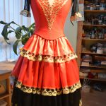 Испанский костюм для танца
