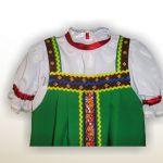 Детский русский народный сарафан
