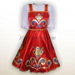 «Русский народный стилизованный сарафан»-003