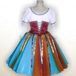 Костюм балетный детский «Тарантелла» для девочки.