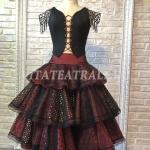 Балетный костюм для испанского танца из балета Щелкунчик (Ballet costume for Spanish dance from Nutcracker ballet)