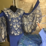 Балетный костюм Голубая птица из балета Спящая красавица (Ballet costume blue bird from the ballet sleeping beauty)
